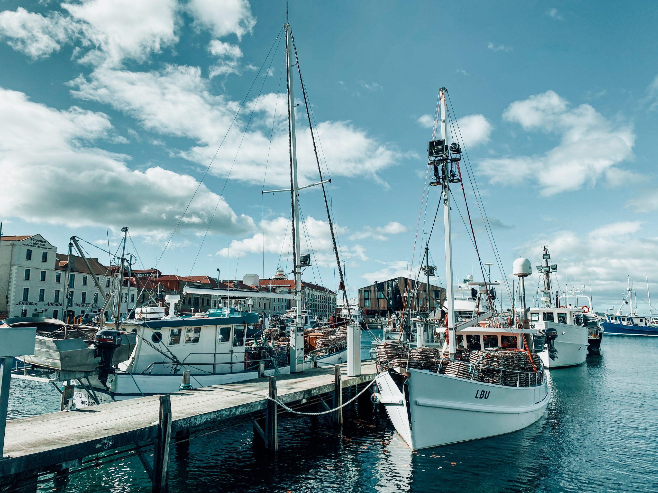Hobart Waterfront Tasmania.