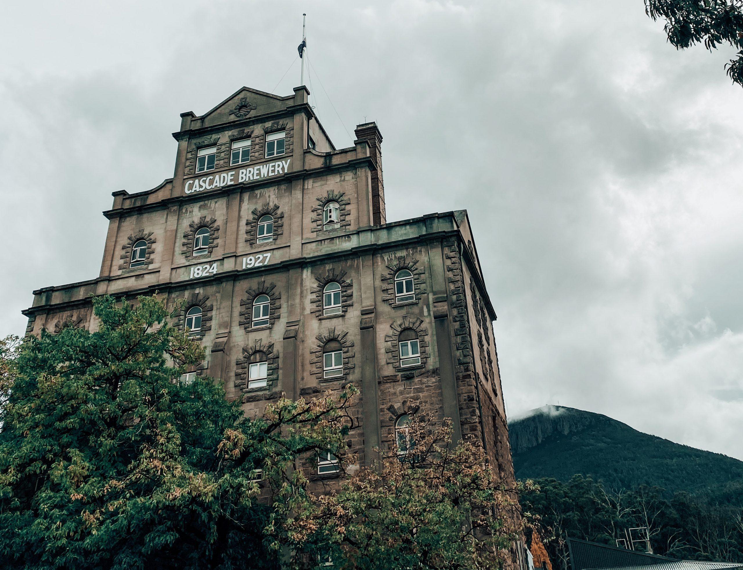 Cascade Brewery in Hobart.