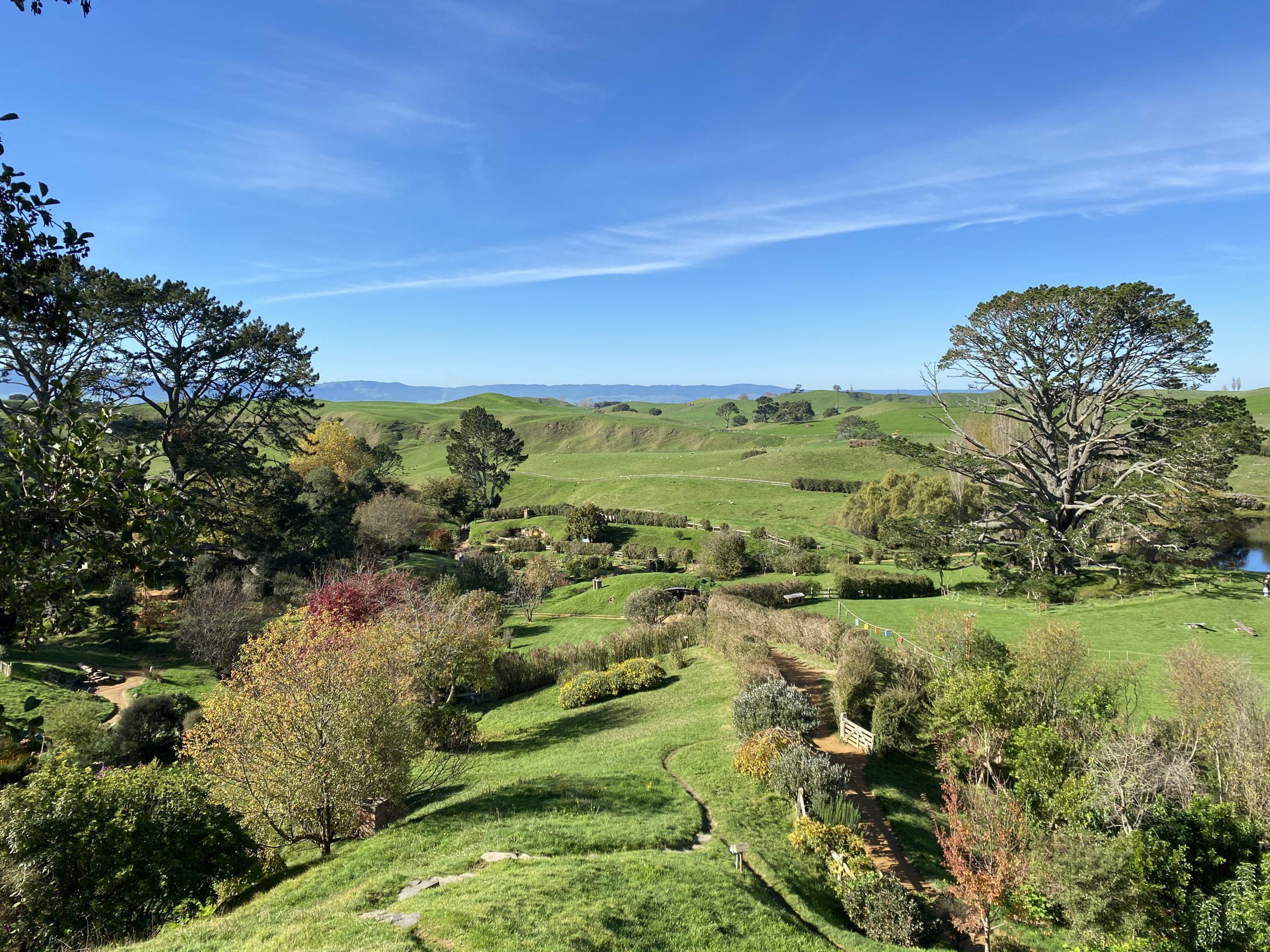 Hobbiton is found on Alexander Farm in Matamata, New Zealand.