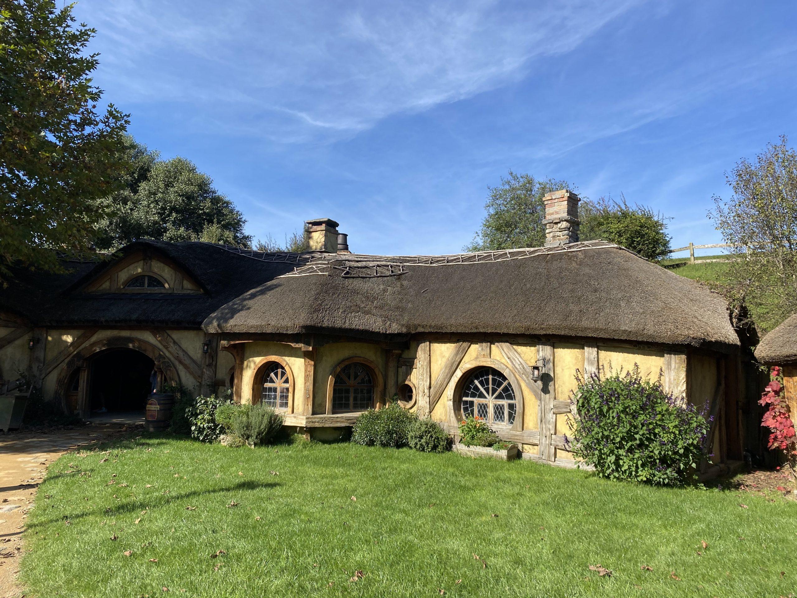 The Green Dragon Inn at Hobbiton Movie Set, New Zealand