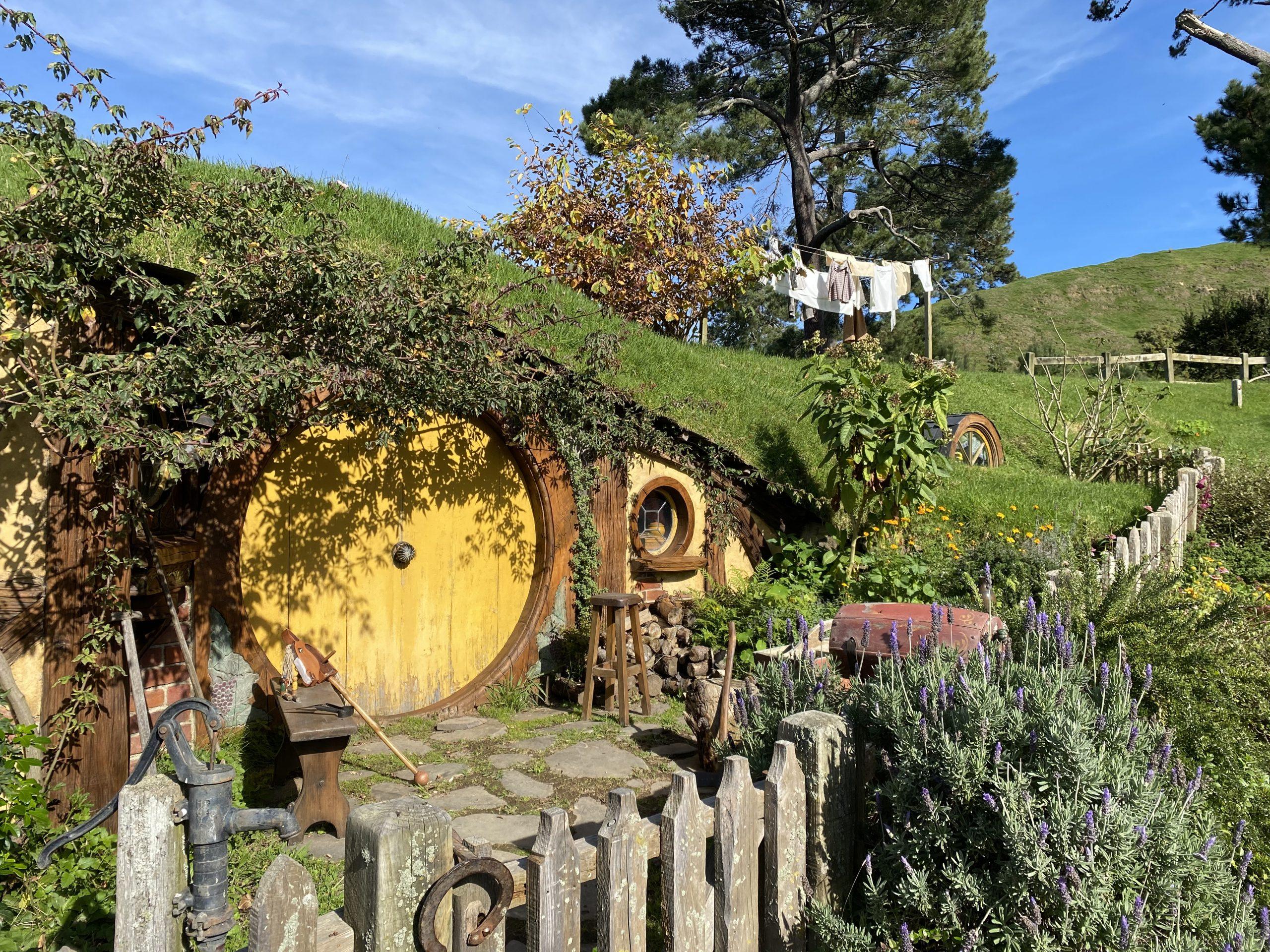 Samwise Gamgee's House at Hobbiton Movie Set